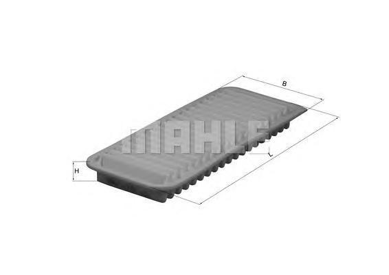 LX2751 Фильтр воздушный TOYOTA: IQ 1.0 09-