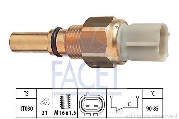 75151 Датчик включения вентилятора LEXUS: GS (JZS160) 300 T3/430 97-05, LS (UCF10) 400 89-94  TOYOTA: CAMRY (_V1_) 2.2 (SXV10) 9