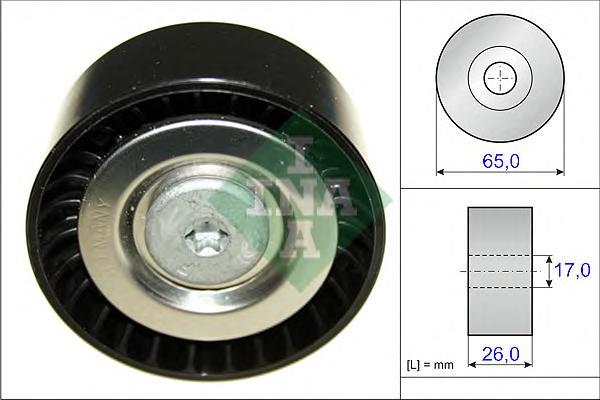 532057110 Ролик ремня приводного MB OM651