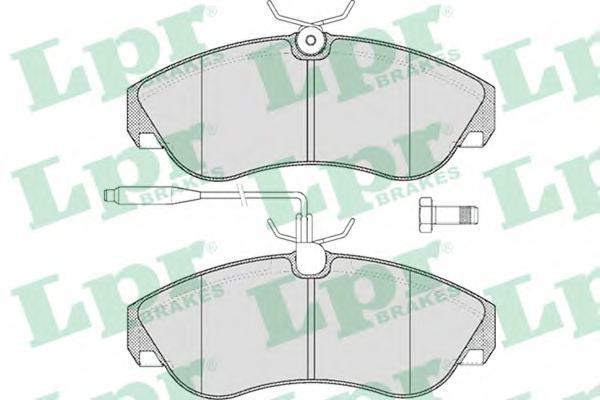 05P494 Колодки тормозные CITROEN JUMPER/FIAT DUCATO/PEUGEOT BOXER 94-02 передние