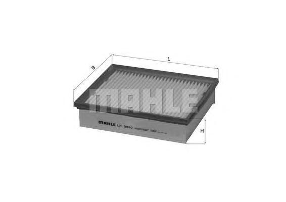 LX2840 Фильтр воздушный RENAULT LAGUNA 2.0D 08-
