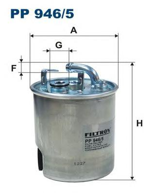 PP9465 Фильтр топливный JEEP GRAND CHEROKEE 2.7CRD 01-