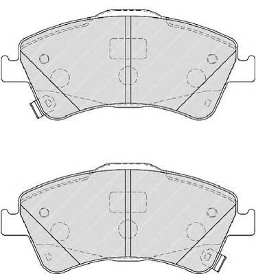 FDB4047 Колодки тормозные TOYOTA AURIS 2.0D/2.2D 07-/AVENSIS 09-/VERSO 09- передние