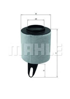 LX1650 Фильтр воздушный BMW E87 116i 04-