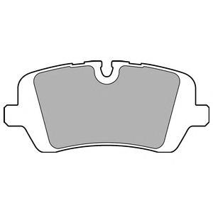 LP2508 Колодки тормозные LAND ROVER RANGE ROVER IV 12-/SPORT 13- задние