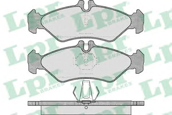 05P609 Колодки тормозные MERCEDES SPRINTER (2-4t) 9506/VOLKSWAGEN LT 9606 задние