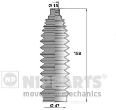 N2841032 Пыльник рулевой рейки NISSAN X-TRAI T30 01-