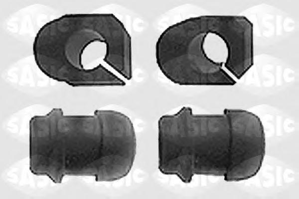 4005080 Втулка стабилизатора RENAULT KANGOO пер. D=23мм внут+наруж.компл.