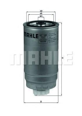 KC182 Фильтр топливный IVECO DAILY