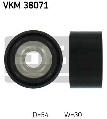 VKM38071 Деталь VKM38071_pолик обводной! MB W220