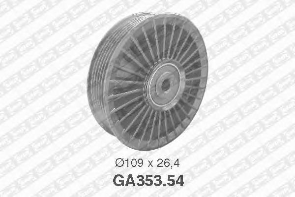 GA35354 Ролик ремня приводного OPEL X20DTH/Y20DTH/MB OM611/646