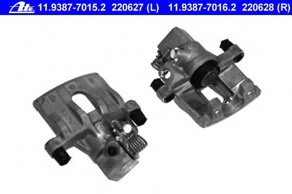 11938770162 Суппорт торм зад п Ford Focus Mazda 3 V 11 9387-7016 2 1324304