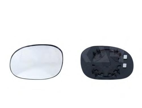 6401283 Стекло зеркала левого, сферическое