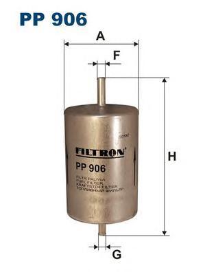 PP906 Фильтр топливный RENAULT LAGUNA 93-
