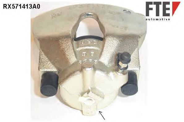 RX571413A0 Суппорт торм. Fr R OP Astra G/H восст.