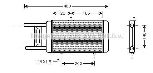 AI2066 Радиатор двиг