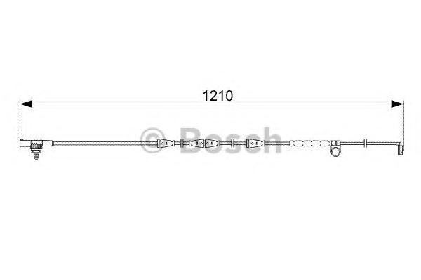 1987473054 Датчик износа торм.колодок LANDROVER 3.6/4.2