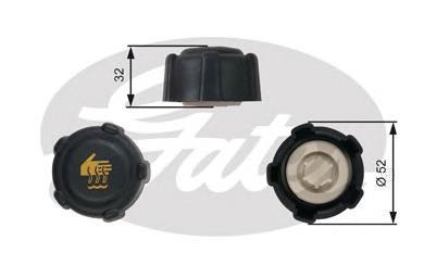 RC223 Крышка радиатора RE Logan