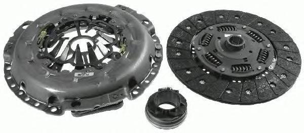 3000951848 Комплект сцепления AUDI: A4 (8EC) 2.7 TDI/3.0 TDI quattro/RS4 quattro/S4 quattro 04- , A4 Avant (8ED) 2.7 TDI/2.7 TDi