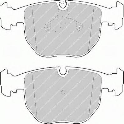 FDB997 Колодки тормозные BMW Е38/E39/X5 3.0/4.4 передние