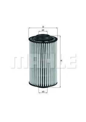 OX399D Фильтр масляный OPEL VECTRA C/SAAB 9-3 2.8T