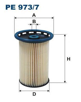 PE9737 Фильтр топливный AUDI Q3/VW PASSAT/SHARAN 1.6D/2.0D 07-