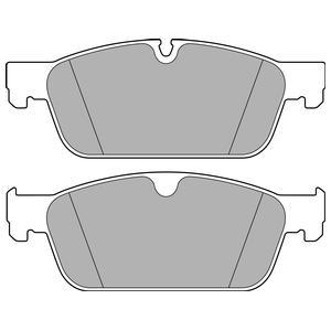 LP2705 Колодки тормозные MERCEDES GL X166/ML W166 передние