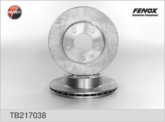 TB217038 Диск тормозной CITROEN JUMPER/FIAT DUCATO/PEUGEOT BOXER 94-передний вент.D=300мм