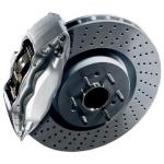 8K0615301M Диск тормозной передний / AUDI A4, A5, Q5 08~