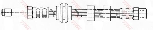 PHB345 Шланг тормозной VW CADDY/GOLF III/POLO/VENTO пер.