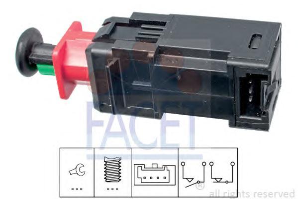 71208 Выключатель фонаря сигнала торможения