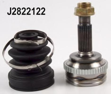 J2822122 ШРУС TOYOTA YARIS 1.0 16V 99- +ABS