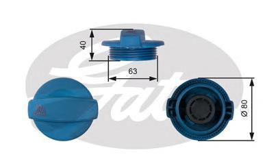 RC237 Крышка расширительного бачка VAG A4/A6/A8 97-/04-