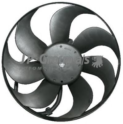 1199104000 Вентилятор радиатора (250/60Watt- 345mm) / AUDI A3, TT; SEAT; SKODA; VW 96~
