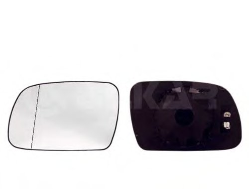 PMG2917G03 Стекло зеркала лев с подогр, асферич  PEUGEOT: 307 - 01-