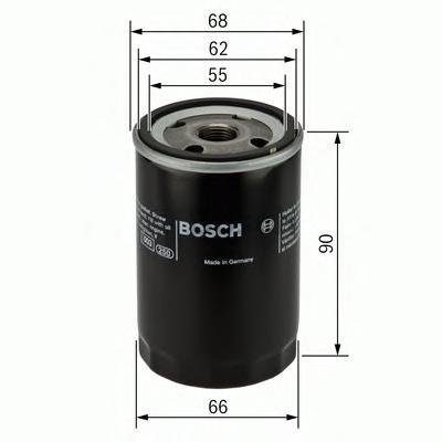 F026407077 Фильтр масляный HONDA