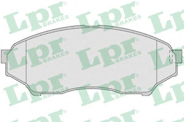 05P819 Колодки тормозные MITSUBISHI PAJERO PININ 1.8-2.0D 99- передние