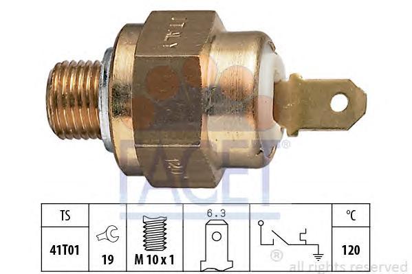 74007 Датчик температуры охлаждающей жидкости AUDI: 100 (44, 44Q, C3) 2.0 D/2.0 D Turbo/2.4 D/2.5 TDI 82-90, 100 Wagon (44, 44Q,
