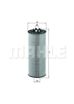 OX164D Фильтр масляный AUDI A4/A6/VW PASSAT 2.5 TDI 97-06