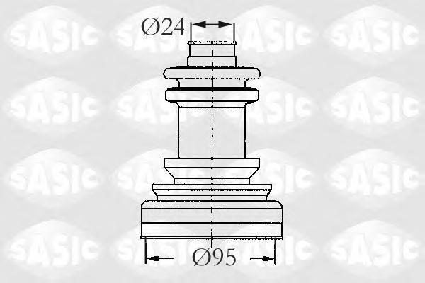 2933423 Пыльник ШРУСа CITROEN JUMPER/FIAT DUCATO/PEUGEOT BOXER/J5 81- нар.