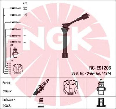 44274 Провода в/в SUZUKI IGNIS 03- RC-ES1206