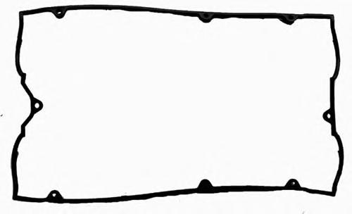 715289700 Прокладка клапанной крышки Mitsubishi Galant 6A12 2.0 24V 92 (2)