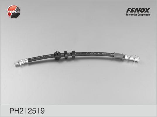 PH212519 Шланг тормозной FORD FOCUS 98-04 передний лев/прав.