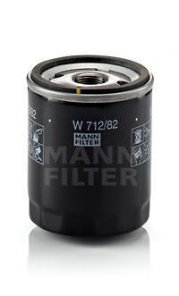 W71282 Фильтр масляный FORD C-MAX/FOCUS II/MONDEO 1.8 TDCI