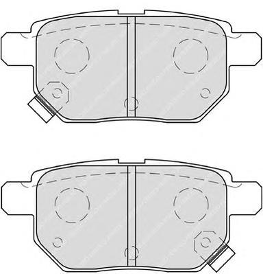 FDB4042 Колодки тормозные TOYOTA COROLLA 1.4 VVT-I 02/AURIS 1.6/1.4 07 задние