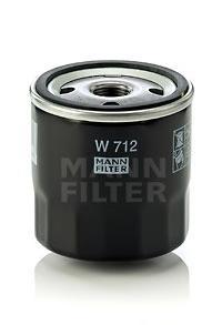 W712 Фильтр масляный OPEL/FORD -98