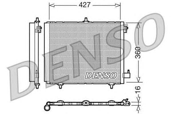 DCN21009 Конденсатор PSA C2, C3, DS3, 207, 1007