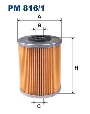 PM8161 Фильтр топливный RENAULT/CITROEN/PEUGEOT/OPEL
