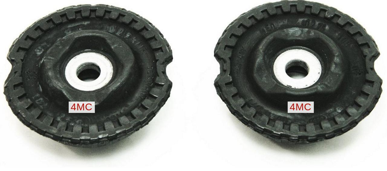 4D0412377F Опора переднего амортизатора / AUDI A-4,6,8;VW Passat-V