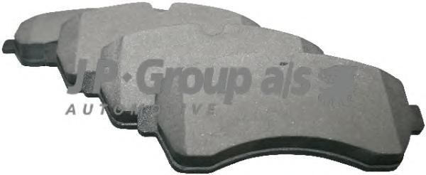 1163601810 Колодки тормозные дисковые передние / VW Crafter 30-50; M.B Sprinter 2.5TDI 04/06~
